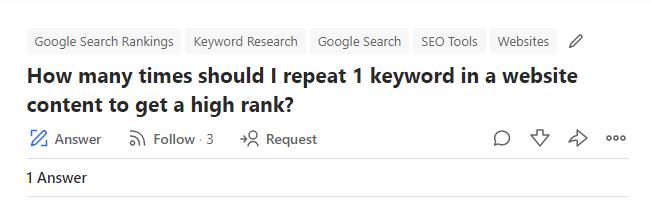 Preguntas Quora