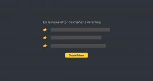 Adelanto de newsletter