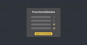 Deshabilitar funciones premium