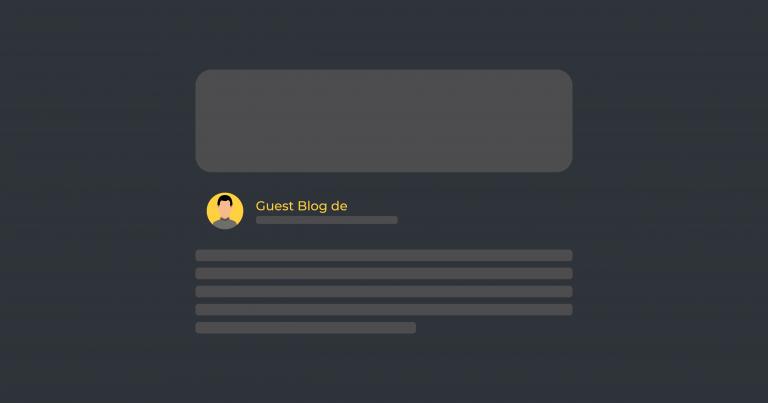 Guest blogging puro